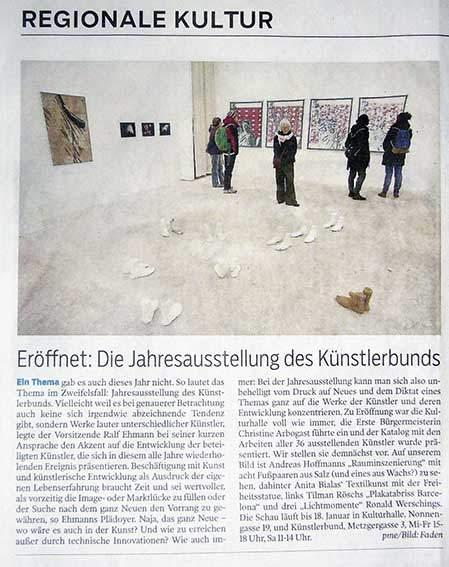 Tagblatt Tübingen Künstlerbund